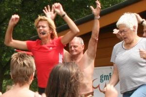 Warming up met Olga Commandeur in Heerde, 2011